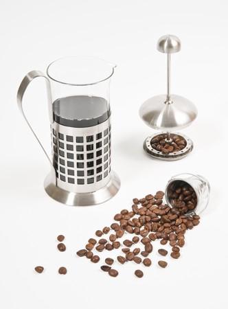 Coffee grain and coffee jar