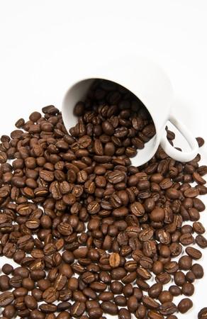 overflow: Overflow coffee grain