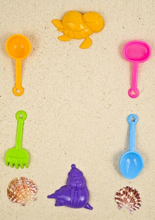 Plastic toys Stock Photo