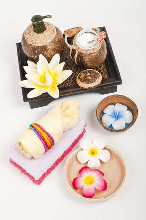 Natural spa products photo