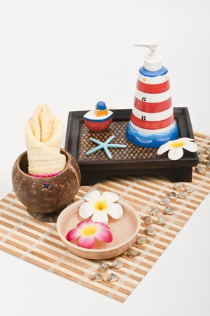 Sea style spa products photo
