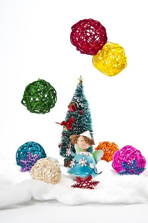 weave ball: Snow weave ball