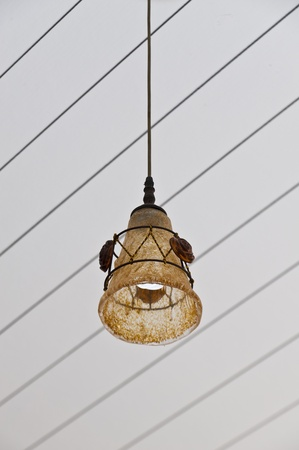 irradiate: Classic lamp on the roof
