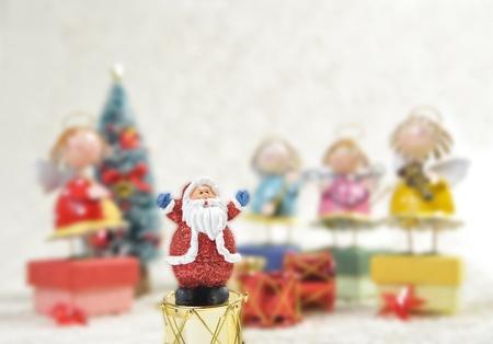 Santa control Angel band Stock Photo - 8385398