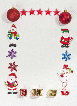 Santa and Snowman Photo frame
