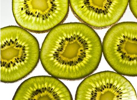 Diapositiva de fruto de Kiwi