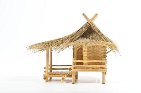 Model of Thai house Stock Photo