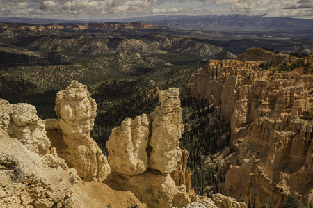 Beautiful viewpoint of Bryce Canyon Stock Photo