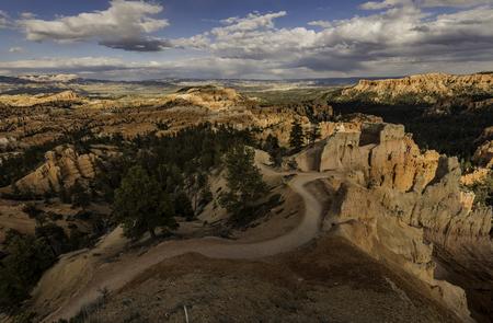trail along the canyon