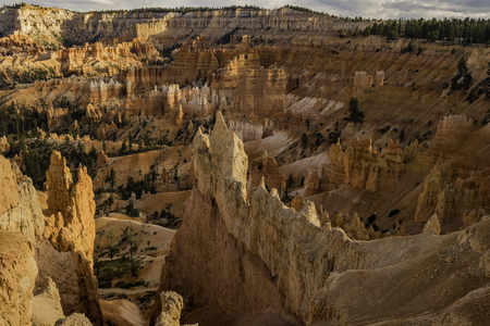 Viewpoint of Bryce Canyon