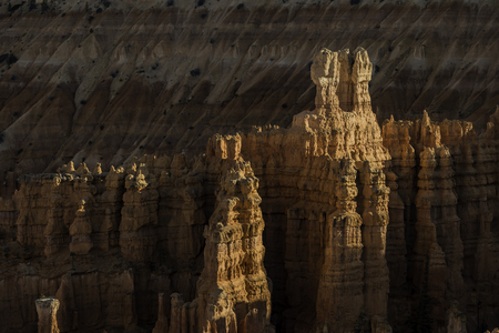 Zoom in Bryce Canyon Stock Photo
