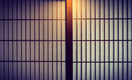 Japanese style sliding door