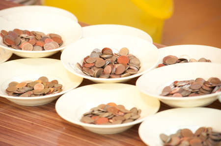 coining: Coins for offering