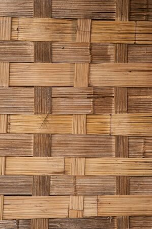 back and forth: Bamboo weaving back and forth texture  Stock Photo