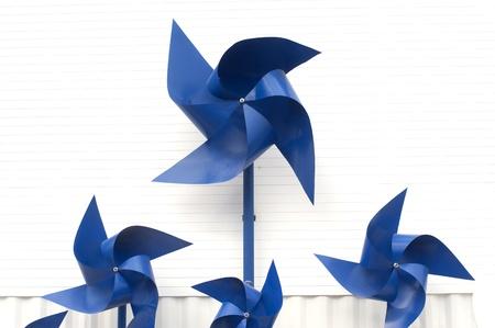 Plastic wind turbine