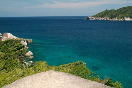 view point Similan island , Andaman sea in Southern of Thailand  photo