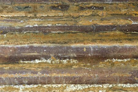 Corrugated iron texture   photo