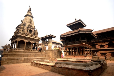 View of Bhaktapur Durbar Square,Nepal