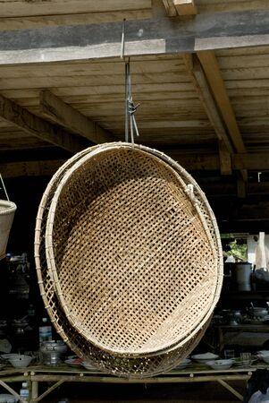winnowing: A winnowing baskets