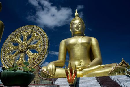 Big Buddha and Thammajak  photo