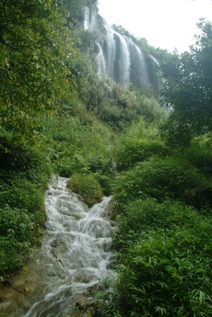 Tararut waterfall in Northern of Thailand  photo