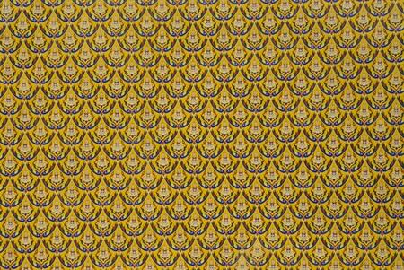 Thai art texture  photo