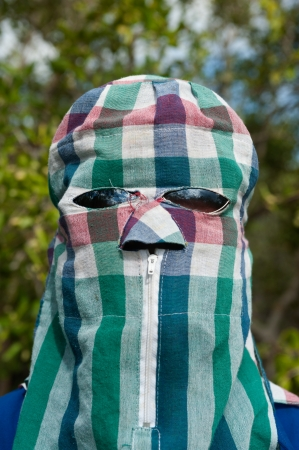 purdah: A tartan veil on worker