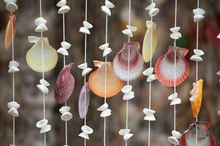 Shell curtain  photo