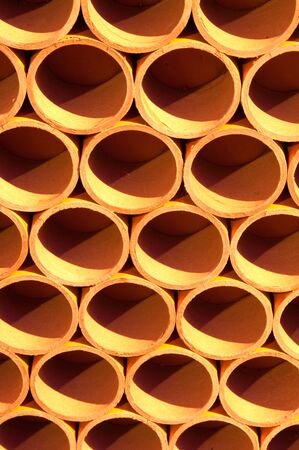 Cross section of paper rolls Stock Photo - 16501400