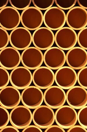 Cross section of paper rolls Stock Photo - 16508786