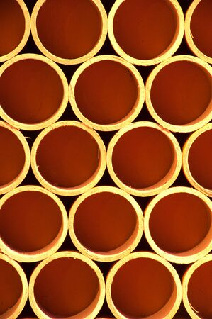Cross section of paper rolls Stock Photo - 16502477
