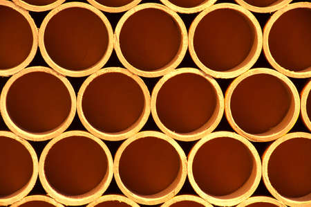 Cross section of paper rolls Stock Photo - 16510398