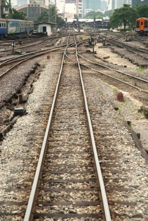 Railway in Thailand  Stock Photo - 16531779