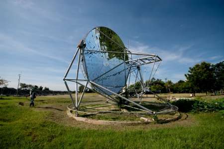 Parabolic dish solar energy collector