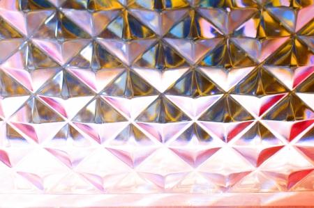 Multicolor glass block texture