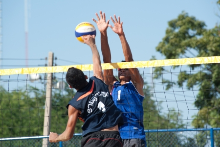 beach volleyball: Beach volleyball in 40th Thailand University Games
