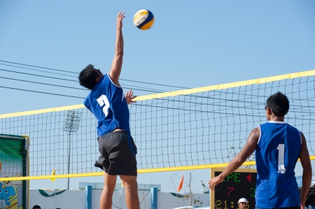 Beach volleyball in 40th Thailand University Games