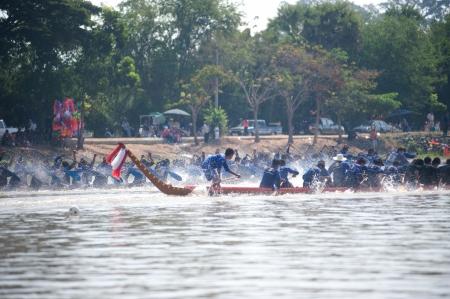 paddler: Thai longboat racing
