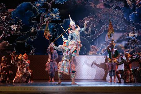 danza clasica: Khon, espectáculos de danza de Tailandia.