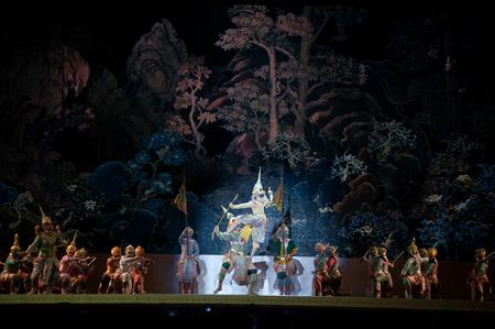 khon: Khon,Dance  performances of Thailand. Editorial