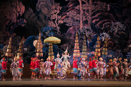 Khon,Dance  performances of Thailand. Editorial