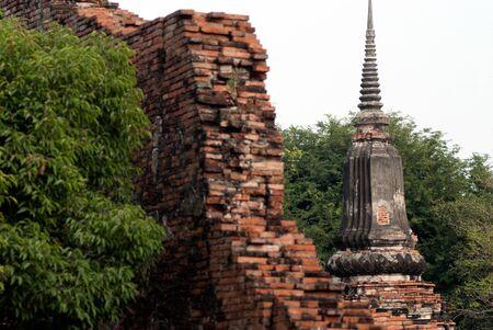 chaimongkol: Ancient Pagoda at Wat Yai Chaimongkol, Ayutthaya, Thailand.
