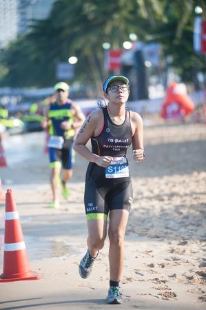sportsperson: Pattaya Triathlon Tour Series 2015. Editorial