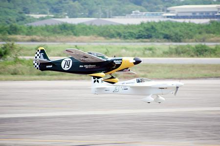 航空ショー: Air race 1.