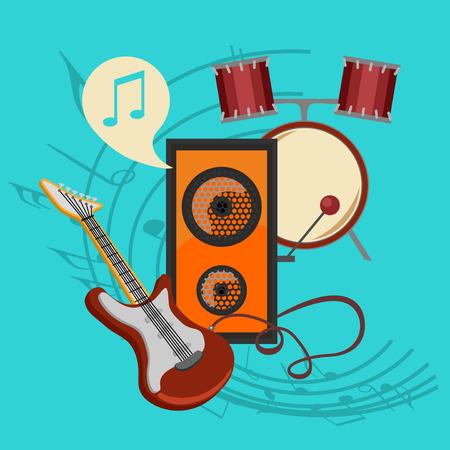 bast: bast set music icon collection