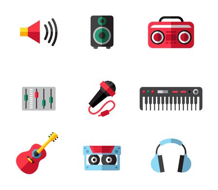 planar: Music planar fashion icons for you. best illustrations in a modern style