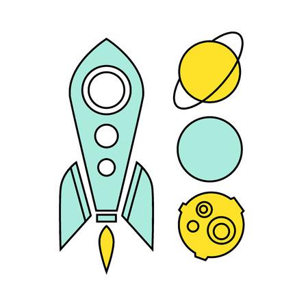 out think: Idea creativa pensar fuera de la caja de Ilustraci�n concepci�n vector Vectores