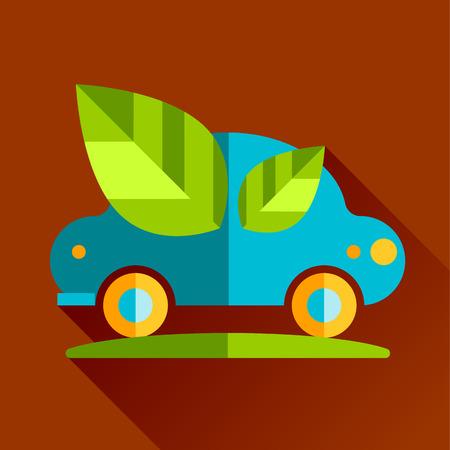 ressources naturelles: passer au vert �co. L'illustration graphique repr�sente �galement la protection des ressources naturelles, les produits biologiques, l'industrie du bien-�tre, le style plat sant� alternative