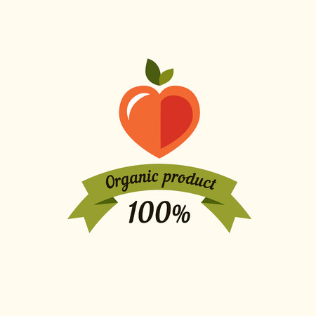 and organic: Set of badges and labels elements for organic food and drink. Organic, bio, natural, eco, logo vector