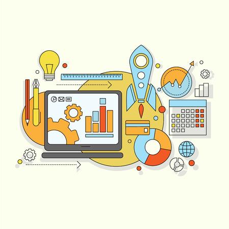 mobiele website: platte ontwerp website ontwikkeling, grafisch ontwerp, het brandmerken, seo, web en mobiele apps ontwikkeling, marketing en e-commerce.